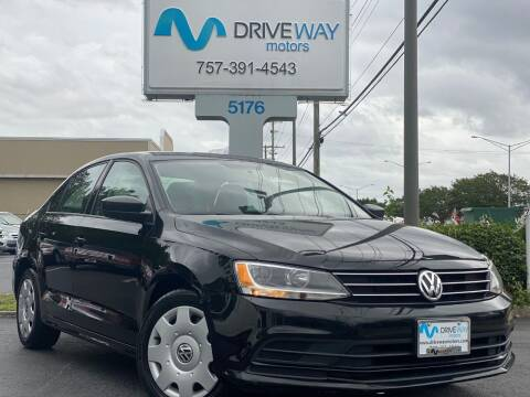 2015 Volkswagen Jetta for sale at Driveway Motors in Virginia Beach VA