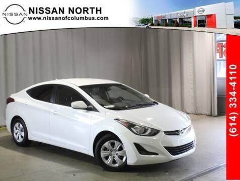 2016 Hyundai Elantra for sale at Auto Center of Columbus in Columbus OH