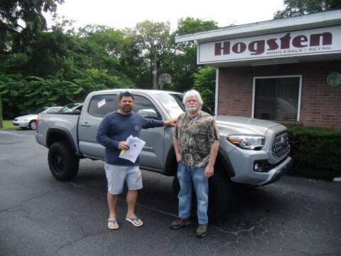 2019 Toyota Tacoma for sale at HOGSTEN AUTO WHOLESALE in Ocala FL
