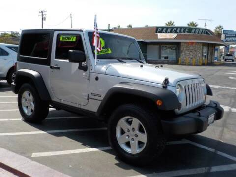 2010 Jeep Wrangler for sale at Bell's Auto Sales in Corona CA