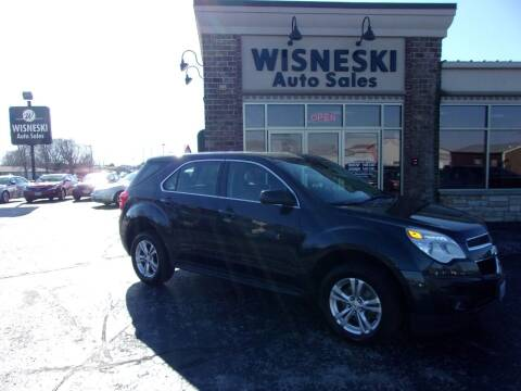 2012 Chevrolet Equinox for sale at Wisneski Auto Sales, Inc. in Green Bay WI