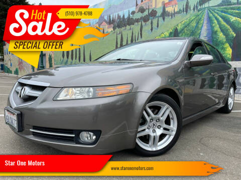 2007 Acura TL for sale at Star One Motors in Hayward CA