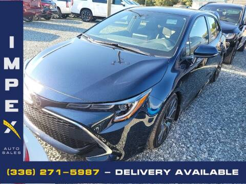 2021 Toyota Corolla Hatchback for sale at Impex Auto Sales in Greensboro NC