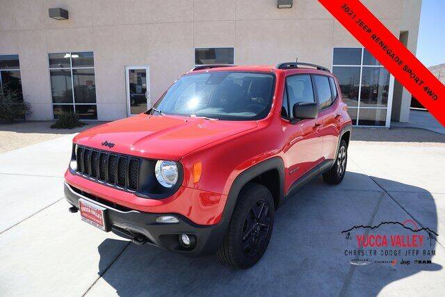 2021 Jeep Renegade for sale in Yucca Valley, CA