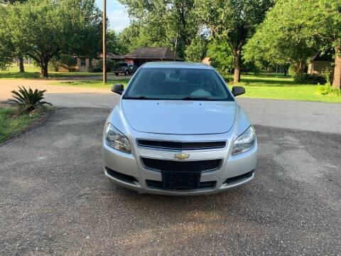 2012 Chevrolet Malibu for sale at CARWIN MOTORS in Katy TX