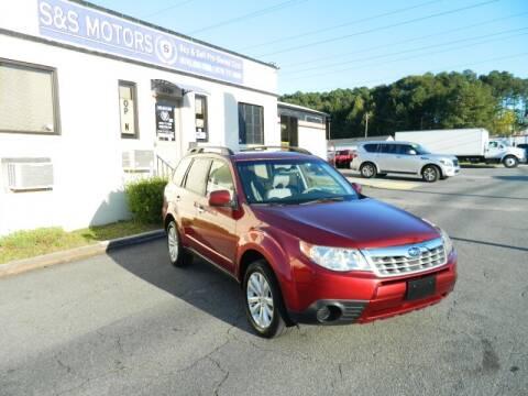 2012 Subaru Forester for sale at S & S Motors in Marietta GA