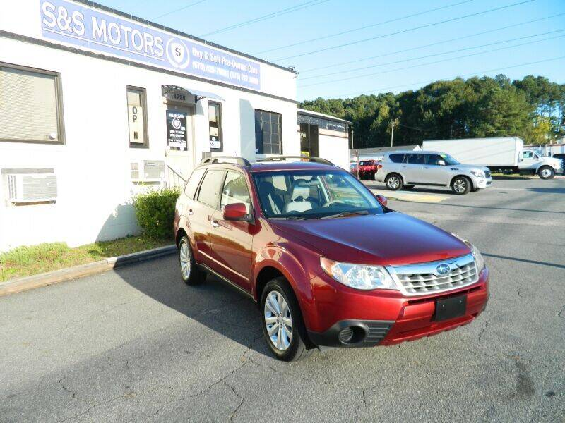 2012 Subaru Forester for sale at S & S Motors in Marietta GA