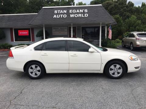 2007 Chevrolet Impala for sale at STAN EGAN'S AUTO WORLD, INC. in Greer SC