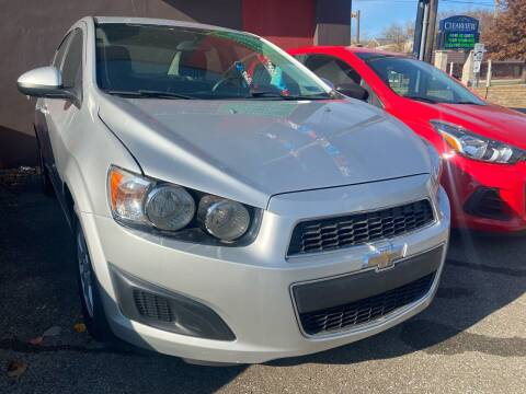 2015 Chevrolet Sonic for sale at John Warne Motors in Canonsburg PA