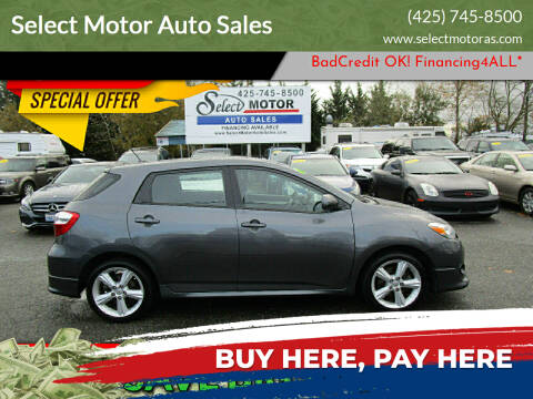 2010 Toyota Matrix for sale at Select Motor Auto Sales in Lynnwood WA