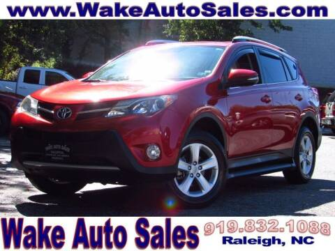 2014 Toyota RAV4 for sale at Wake Auto Sales Inc in Raleigh NC