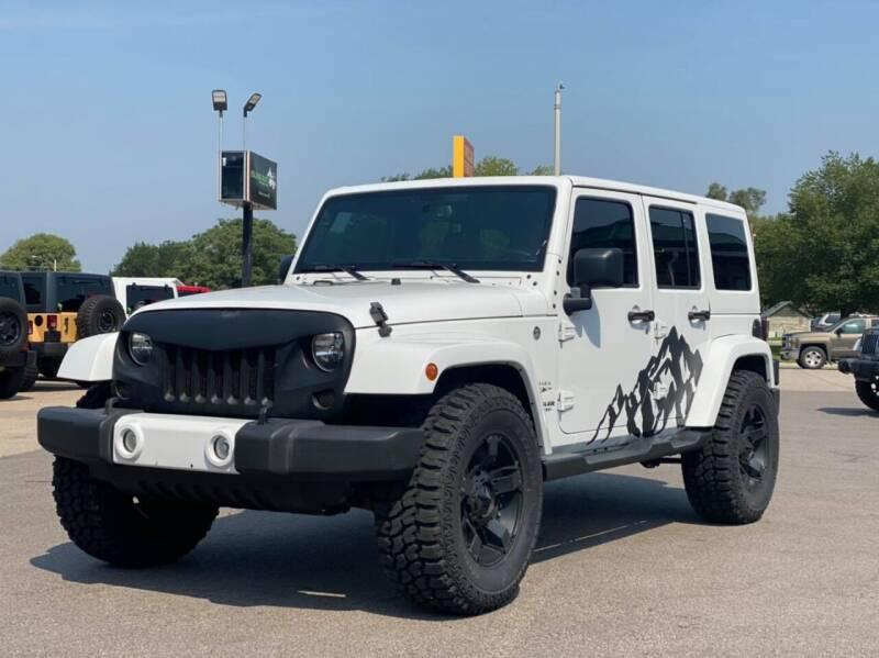 2016 Jeep Wrangler Unlimited for sale at Island Auto Off-Road & Sport in Grand Island NE