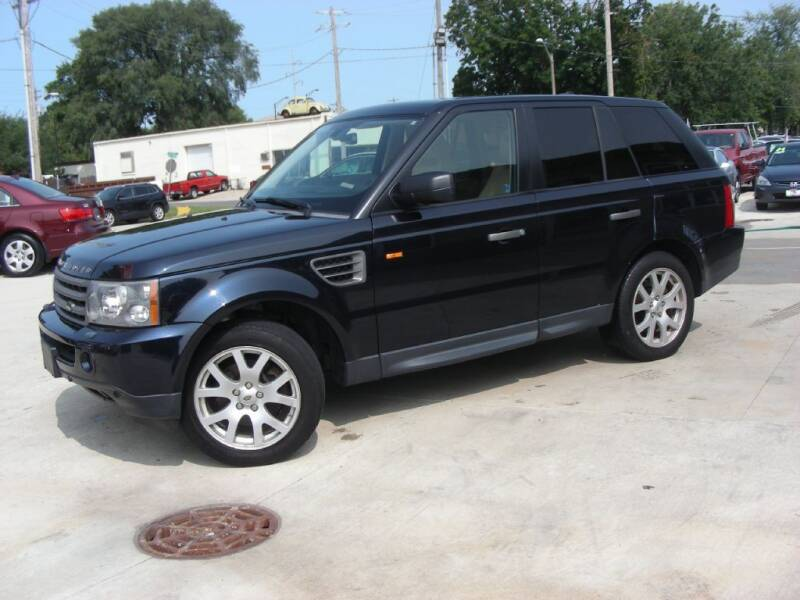 2007 Land Rover Range Rover Sport for sale at EURO MOTORS AUTO DEALER INC in Champaign IL