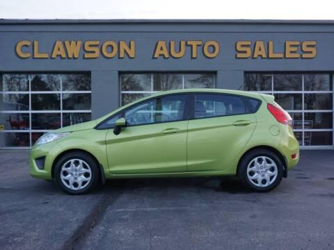 2011 Ford Fiesta for sale at Clawson Auto Sales in Clawson MI
