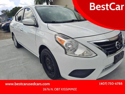 2015 Nissan Versa for sale at BestCar in Kissimmee FL