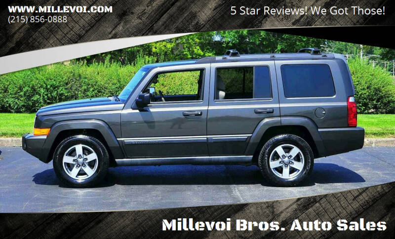 2006 Jeep Commander for sale at Millevoi Bros. Auto Sales in Philadelphia PA
