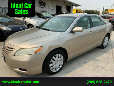 2007 Toyota Camry for sale at Ideal Car Sales in Los Banos CA