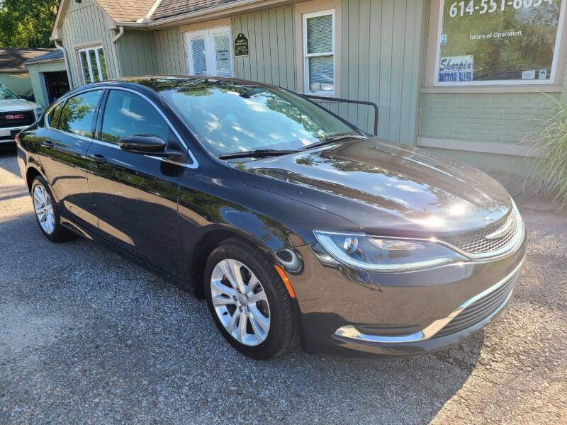 2016 Chrysler 200 for sale at Sharpin Motor Sales in Columbus OH