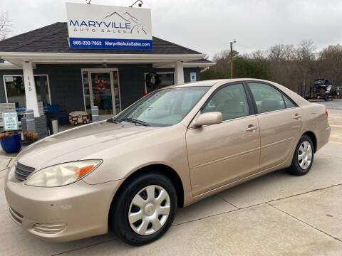 2002 Toyota Camry for sale at Maryville Auto Sales in Maryville TN
