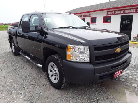 2012 Chevrolet Silverado 1500 for sale at Sarpy County Motors in Springfield NE