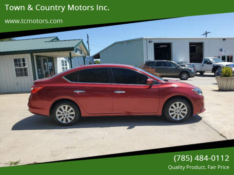 2016 Nissan Sentra for sale at Town & Country Motors Inc. in Meriden KS