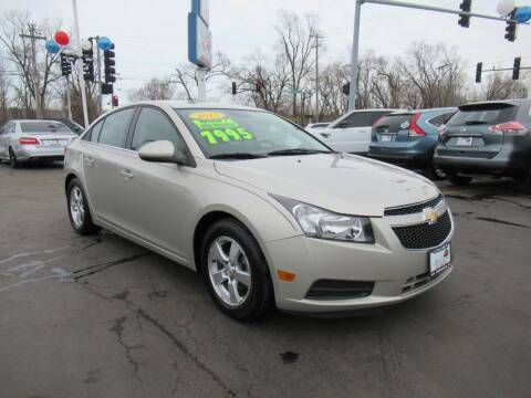 2013 Chevrolet Cruze for sale at Auto Land Inc in Crest Hill IL