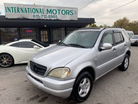 2000 Mercedes-Benz M-Class for sale at International Motors Inc. in Nashville TN