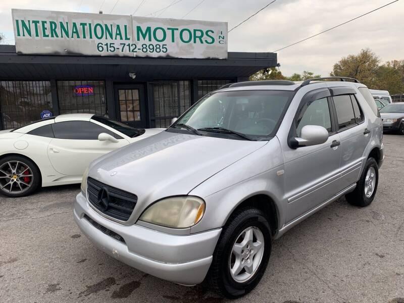 2000 Mercedes-Benz M-Class for sale at International Motors Inc. in Nashville TN