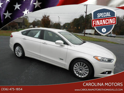 2014 Ford Fusion Energi for sale at CAROLINA MOTORS in Thomasville NC