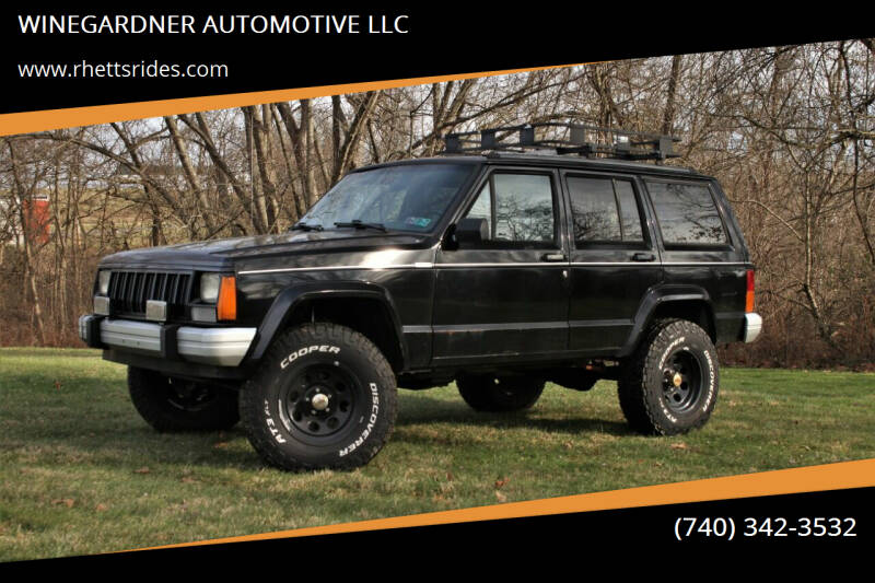 1996 Jeep Cherokee for sale at WINEGARDNER AUTOMOTIVE LLC in New Lexington OH