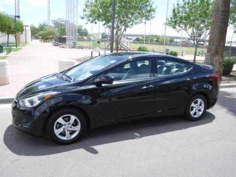 2015 Hyundai Elantra for sale at J & E Auto Sales in Phoenix AZ