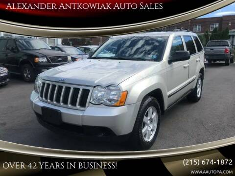 2009 Jeep Grand Cherokee for sale at Alexander Antkowiak Auto Sales in Hatboro PA