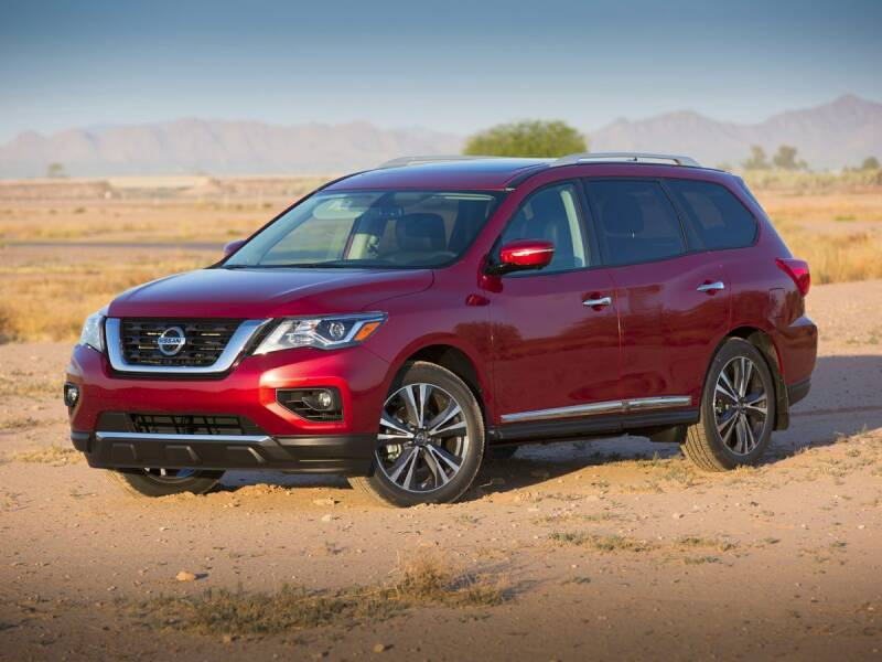 2018 Nissan Pathfinder for sale at BARRYS Auto Group Inc in Newport RI