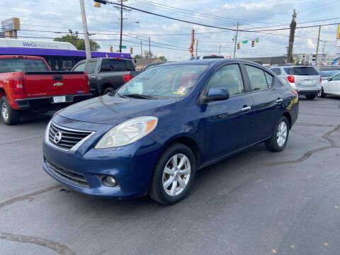 2012 Nissan Versa for sale at Rucker's Auto Sales Inc. in Nashville TN