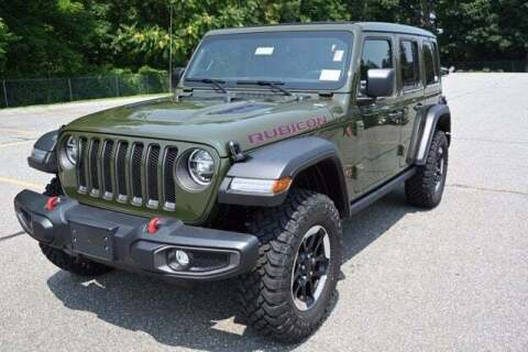 2021 Jeep Wrangler Unlimited for sale at 495 Chrysler Jeep Dodge Ram in Lowell MA