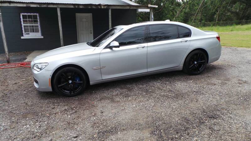 2013 BMW 7 Series for sale at action auto wholesale llc in Lillian AL