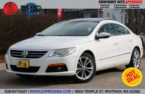 2009 Volkswagen CC for sale at Auto Sales Express in Whitman MA