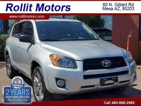 2011 Toyota RAV4 for sale at Rollit Motors in Mesa AZ