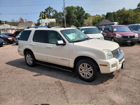 2007 Mercury Mountaineer for sale at RIVERSIDE AUTO SALES in Sioux City IA
