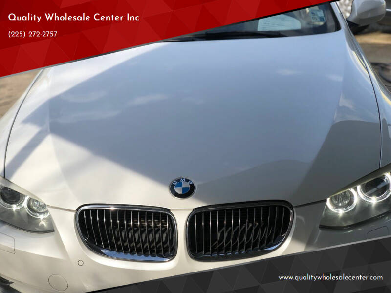 2013 BMW 3 Series for sale at Quality Wholesale Center Inc in Baton Rouge LA