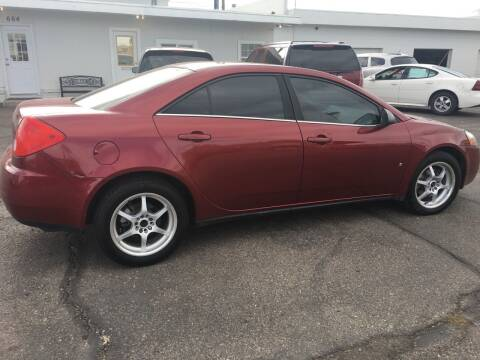 2009 Pontiac G6 for sale at Major Motors in Twin Falls ID