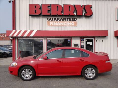 2012 Chevrolet Impala for sale at Berry's Cherries Auto in Billings MT