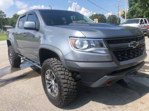 2018 Chevrolet Colorado for sale at Creekside Automotive in Lexington NC