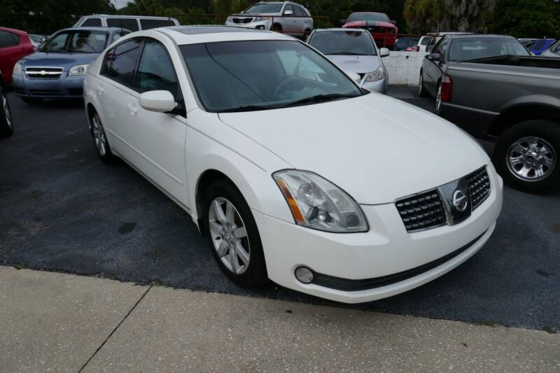 2005 Nissan Maxima for sale at J Linn Motors in Clearwater FL