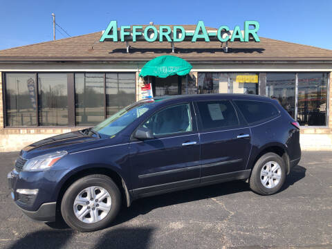 2015 Chevrolet Traverse for sale at Afford-A-Car in Moraine OH