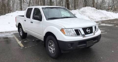 2011 Nissan Frontier for sale at BORGES AUTO CENTER, INC. in Taunton MA