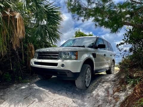 2008 Land Rover Range Rover Sport for sale at AUTOSPORT MOTORS in Lake Park FL