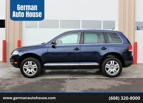 2006 Volkswagen Touareg for sale at German Auto House in Fitchburg WI