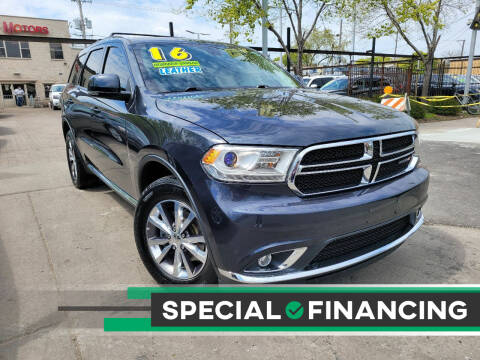2016 Dodge Durango for sale at Capital Motors Credit, Inc. in Chicago IL