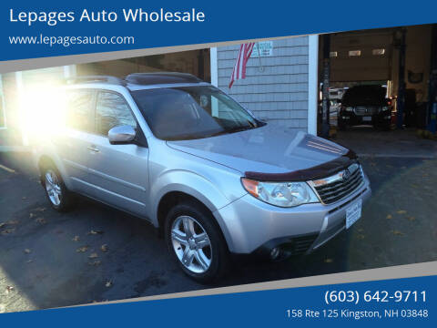 2009 Subaru Forester for sale at Lepages Auto Wholesale in Kingston NH
